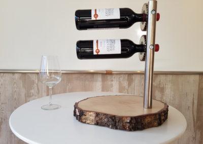 Wijnflessen standaard